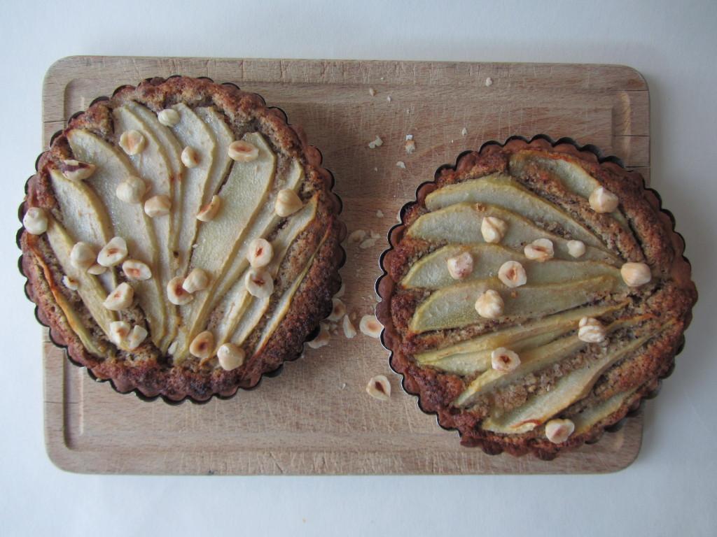 peren hazelnoot taart